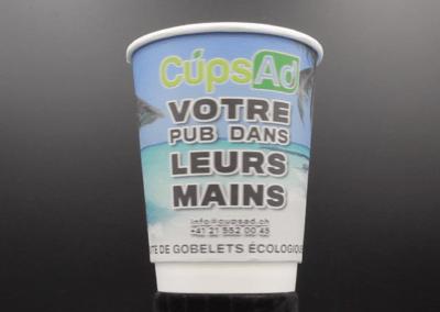 Tropical cup, le gobelet qui vous fait rêver.